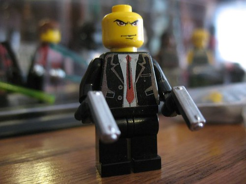 hitman custom minifig