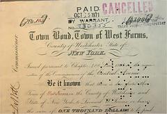 1868 Municipal Bond