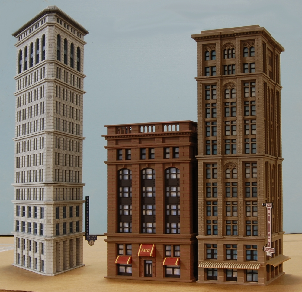 My n scale city progress and my models skyscrapercity