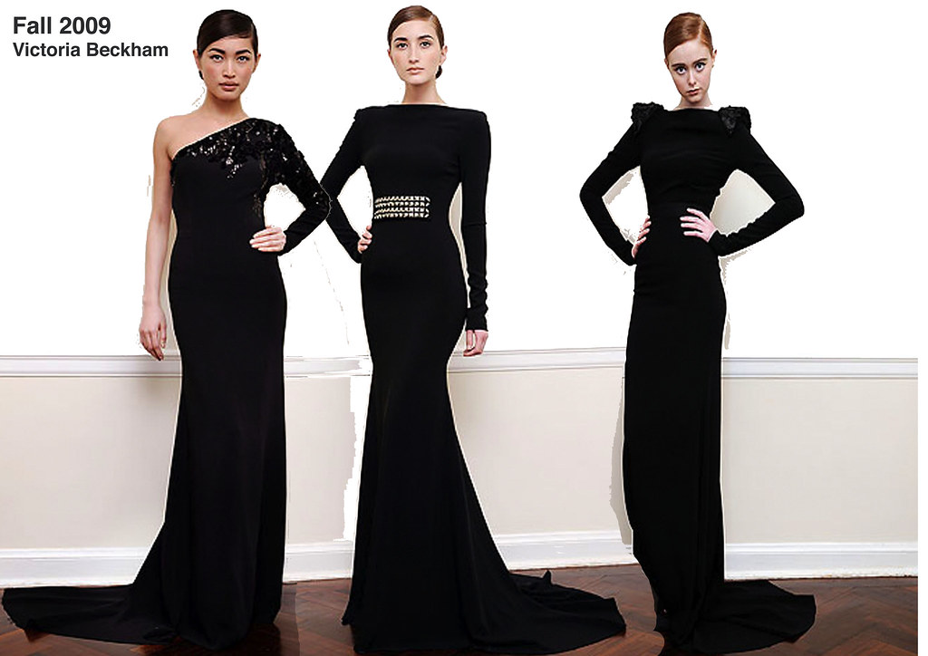Victoria Beckham-Black dresses