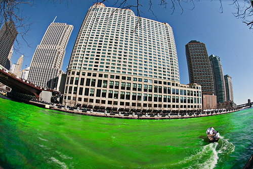 The Greening of the Chicago River 108