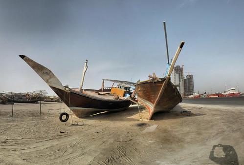 Dhau-Werft