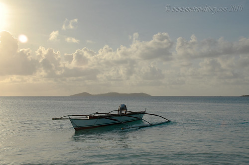 Fisherman, Calaguas Island, Camarines Norte