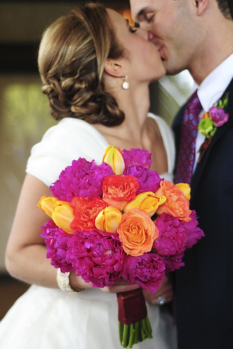 bouquet kiss
