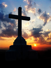 Holy Cross at Sunrise