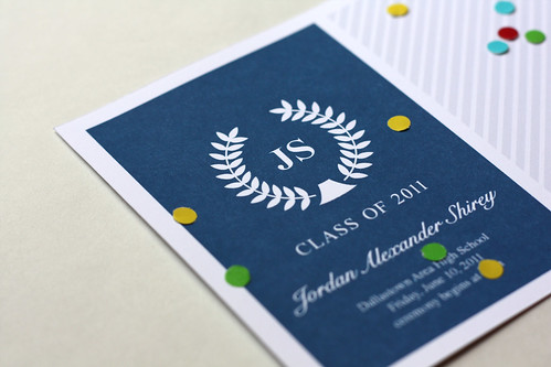 Jordan's Graduation Announcements