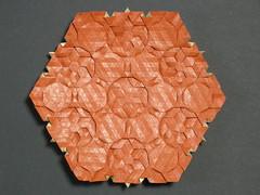 Snowflake tessellation reverse