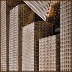 Q = Question (Frizztext) Tags: abstract berlin texture skyscraper square interestingness explore galleries barbara minimalism aluminium alu obstinacy lessismore 500x500 linescurves frizztext artlibre flickrelite 200837 winner500 bauhausrendezvous