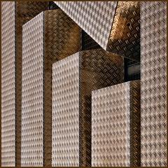 Q = Question (Frizztext) Tags: abstract berlin texture skyscraper square interestingness explore galleries barbara minimalism aluminium alu obstinacy lessismore 500x500 linescurves frizztext artlibre flickrelite 200837 winner500 bauhausrendezvous