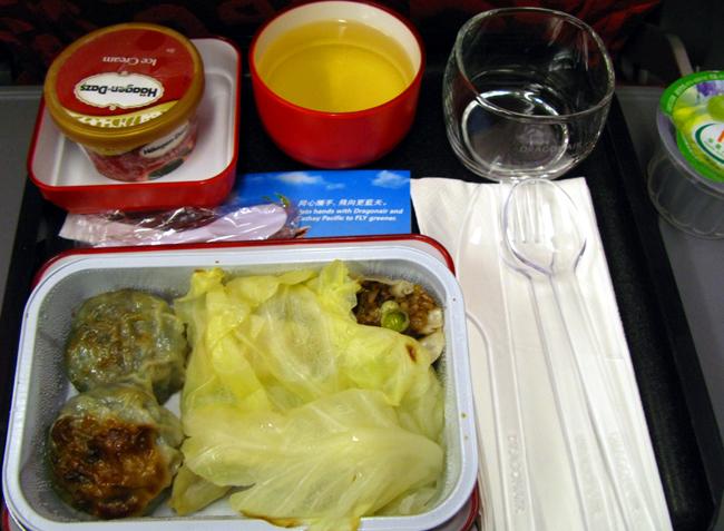 105 Dragonair A330 Dinner <acronym title=