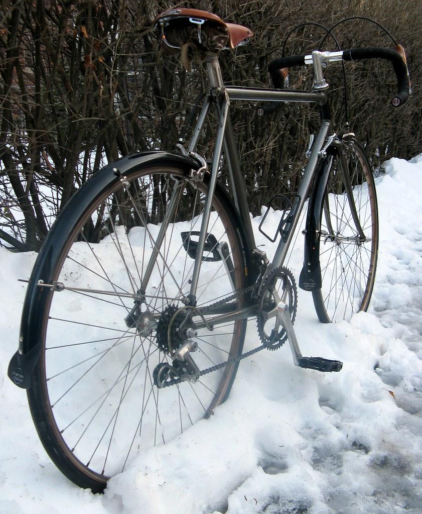 Commuter Bike Rear View