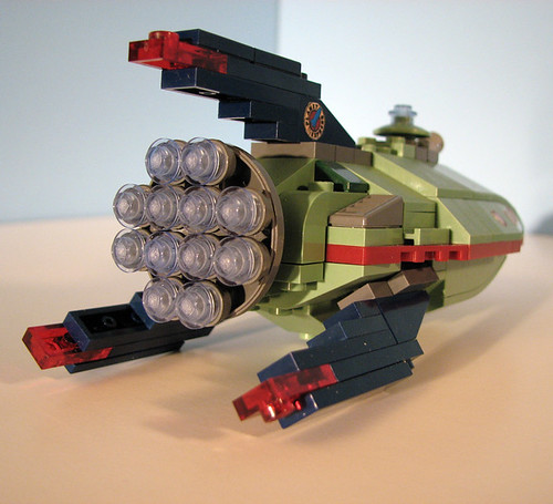 Nave Planet Express Lego