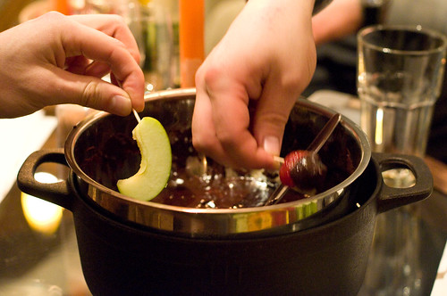 No. 9: Dark chocolate fondue by afloden.