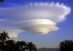UFO Cloud (watch4u) Tags: cloud ufo palmdesert
