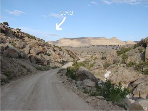 UFO San Rafael Swell 182
