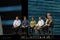 "Panel ""A Multitude of Models, How Communities Work"", CommunityOne General Session, Moscone Center SF"