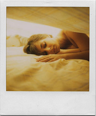 .sweet home. (andrenzo) Tags: portrait love film yellow composition polaroid sx70 photography photo bed dream dreams intro pola blend sx 25faves introcoso andrenzo andreacolombo introvertevent colomboandrea