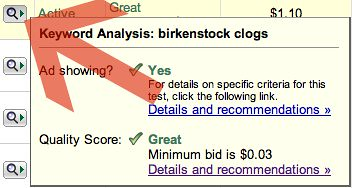 AdWords Magnifying Glass