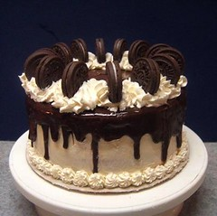 Oreo Extravaganza Cake (lismi171) Tags: cookies dessert baking sweet chocolate birthdaycake vanilla oreos extravaganza buttercream yellowcake cookiesandcream chocolateganache oreocookies bittersweetchocolate oreocake italianmeringue celebrationcake