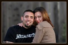 Justin & Kiersten (apulloa@sbcglobal.net) Tags: justin portraits eos flash nephew wife kirsten 430 30d canon580