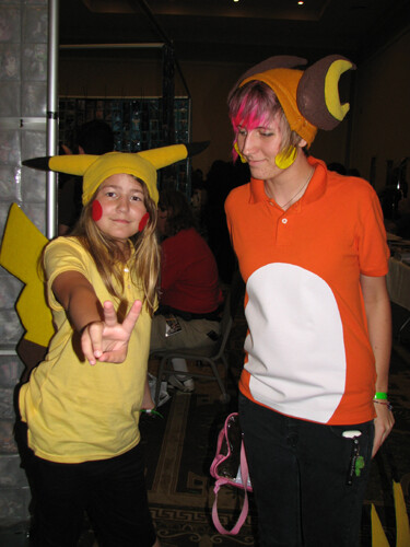 From Pokemon, Pikachu and Raichu Halloween costume do it yourself,