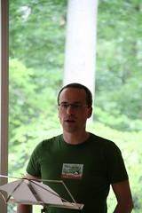 Henning bei einer Rede