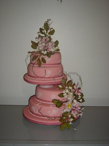 torta  bodas gano el 1º premio en el concurso de la señora cecilia morana by cristina tortas artesanales dulcinel.