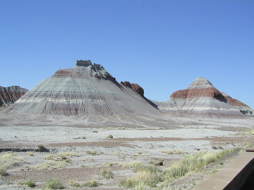 Petrified Forest - Teepees
