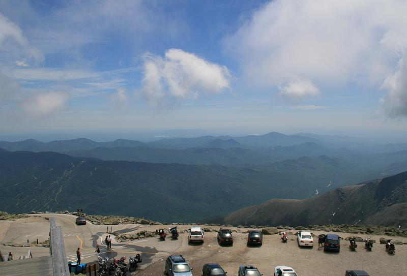 Clear Day on Mt Washington