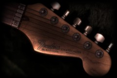 Strat...Warm Wood and Steel (Giancarlo Mella (OFF)) Tags: italy music canon photography photo guitar fender sound digitalcamera hdr stratocaster chitarra suono 400d giancarlomella bestflickrphotography