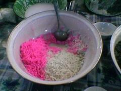 dawet dari tepung beras asli