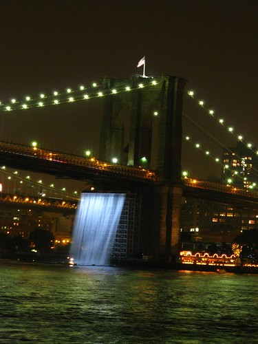 Olafur Eliasson's NYC Waterfalls photo by Gemini-J