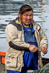 "Ogeechuck ""boi boi"" (dani.Co) Tags: fishing fisherman nikon greenland inuit pescador pescando groenlandia danico elmundoensusmanos ogeechuck theworldinhisarms danicophoto"
