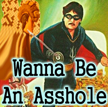 Wanna Be An Asshole.. (craigless64) Tags: life music art collage digital photoshop creativity design artist song unique album irony craig hop tune morrison quip cmor