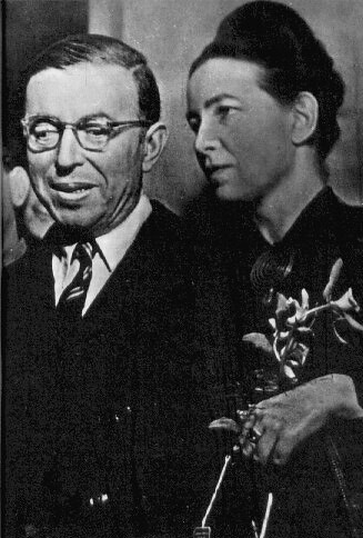 sartre and simone