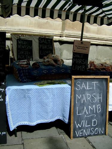 Salt Marsh Lamb at the Slow Food Market