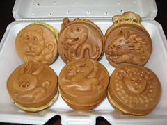 Mitsuwa Marketplace: Cream yaki set - from Oishinbo (the other side)
