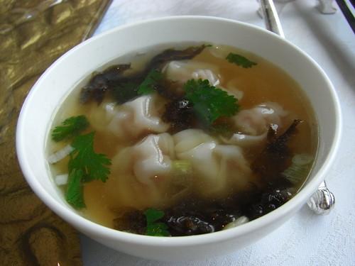 上海式雲呑スープ