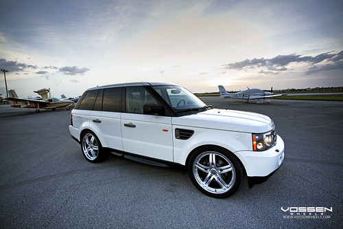 Range Rover Sport on Vossen VVS078 Wheels,car, sport car