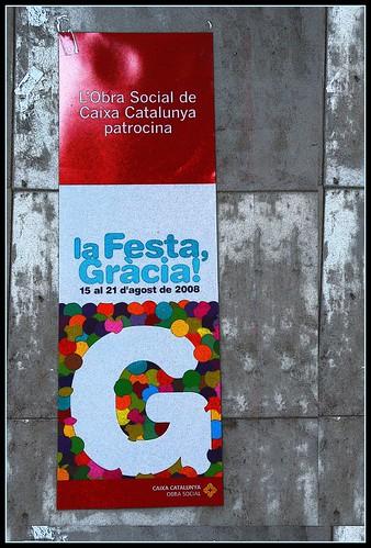 la Festa, Gràcia 2008