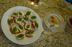 Caprese Topping for Crackers