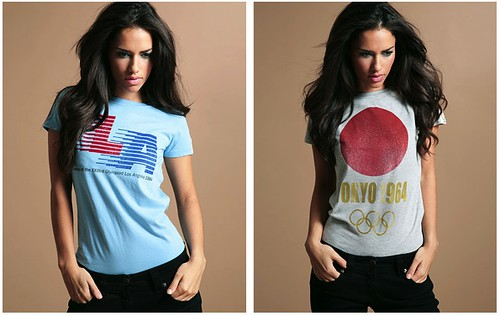retro olympic t-shirts