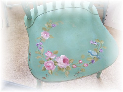 Cottage painted chair Kimberly Ryan
