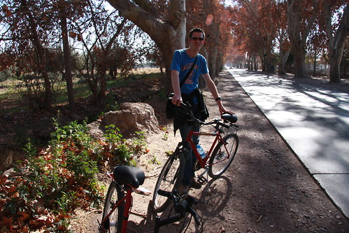Biking the Wineries of Maipú