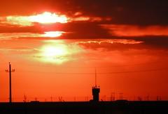atardecer en la torre (AgusValenz) Tags: sunset orange black clouds atardecer nikon darkness negro soviet nubes coolpix centralasia kazakhstan naranja eurasia oscuridad atyrau p80  xpa   expatriado loquevende seguncayo
