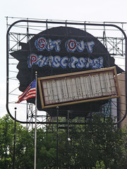 Get Out Phascists (p...kin...e) Tags: protest minneapolis gop republicannationalconvention grainbeltsign getoutphascists