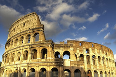 Colosseo Day Color (mercolino) Tags: italy rome ruins italia collosseo aplusphoto