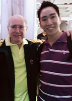 Gary Ng with John Howard