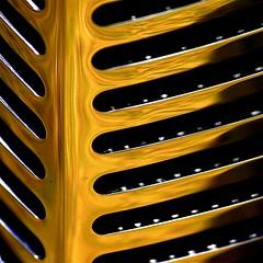 Big Smile (ebergcanada) Tags: abstract reflection car stripes chrome 500x500 colourartaward artlegacy