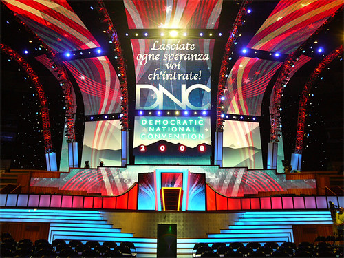 Democratic National Convention Stage
